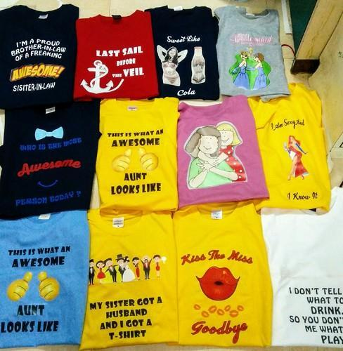e314be48 Customized Printed T Shirt, प्रिंटेड टी शर्ट्स ...