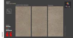 Itoli Vitrified Sandstone Bronze, Size: 600x1200 mm, Packaging Type: Box