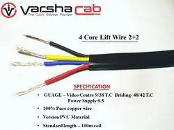 Shielded CCTV Camera Lift Wire 2 2(0.5 Sq mm)