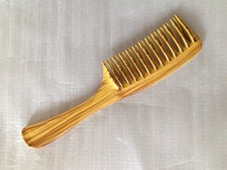 Detangler Comb - Wood Finish