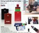 Visiting Card & ID Card Pull Holder H-1104