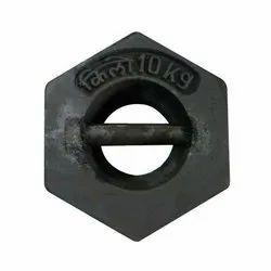 Cast Iron Black C.I.Weight - 10kg