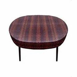 Universal Furniture Rattan & Wicker Modern Oval Shape Table