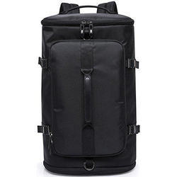 Polyester Black Waterproof High Grade Travel Bag