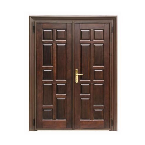 Teak Wood Hinged Modern Front Door Rs 680 Square Feet Ganesha Wooden Hub Private Limited Id 19820439291