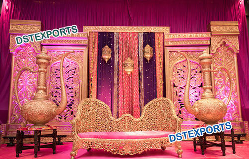 Moroccan Style Wedding Stage Decorations In Ragho Majra Patiala
