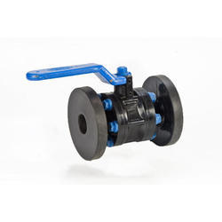 3 Pc. Flanged End Flange End HDPE Ball Valve, Size: 1 - 8 Inch, for Industrial