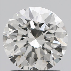 1.26ct Lab Grown Diamond CVD H VS1 Round Brilliant Cut IGI Certified Stone