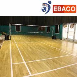 Wooden Badminton Court Flooring, in Pan India