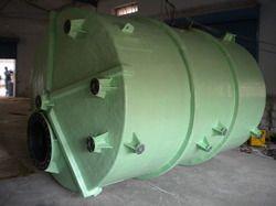FRP Fiber Reinforced Plastic Vessels, Capacity: 1000-10000 L