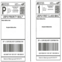 Shipping Barcode Label