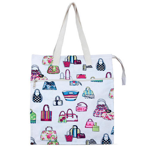 Mix Prints JEH Cotton Shopping Bag, 15kgs, For Shopping/Daily Use