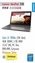Lenovo Laptop, Screen Size (inches): 15 6 Inches (39 62 Cm)   ID