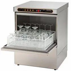 Hobart Rectangular Glass Washer, Model Name/Number: G 404, Capacity: 400x400 Mm Tray