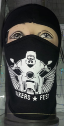 Printed Full Face mask,Stylish Bikers mask,Printed Mask