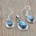Silver 925 Gemstone Sets Turquoise Stone Jewelry