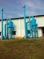 Centralized Cyclonic Dust Collector System For SS Pipe Buffing Line