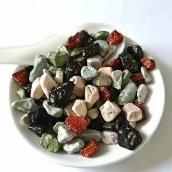 Spicy Monk Multicolor Coated Rock Chocolate Edible Stones Candy