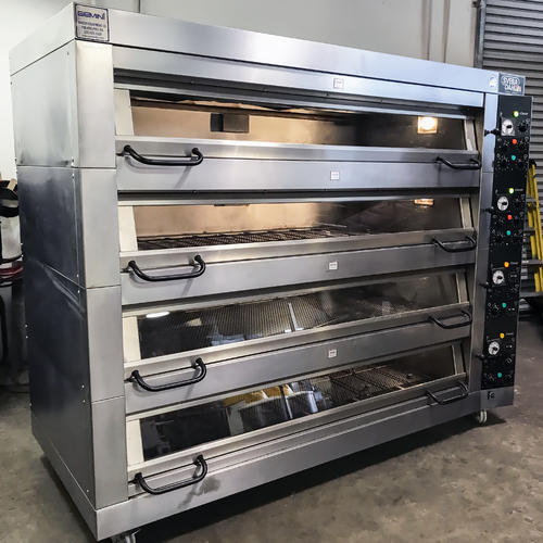 Shree Ambica SS Bakery Deck Oven