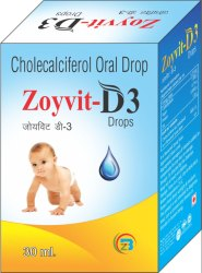 Cholecalciferol (As Stabilized) 800 I.U Drops