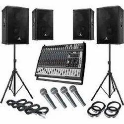 Audio System Rental Service, Hyderabad