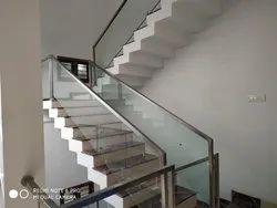 Staircase Handrail Work