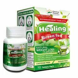 Healing Green Tea