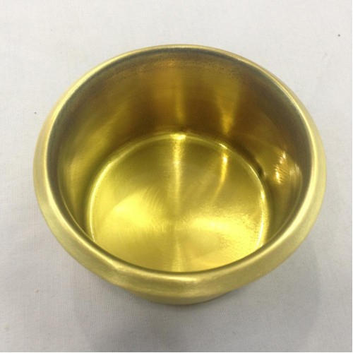 Poker Table Brass Cup Holder