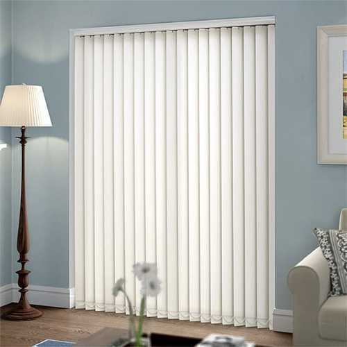 White Pvc Patio Door Vertical Blind Rs 650 Square Meter