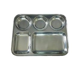 Stainless Steel Rectangular Dinner Plate