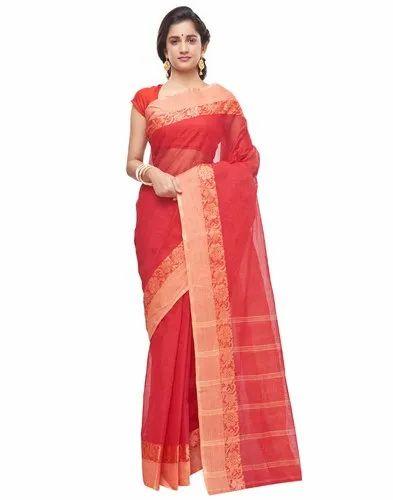 0d46585faf Slice of Bengal Latest Design Handloom Pure Cotton Taant Tant Tangail Saree  Sari for Women.