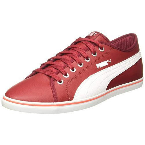 d6e64d08a99 Canvas Puma Elsu V2 Sl Red And White Sneakers Shoes
