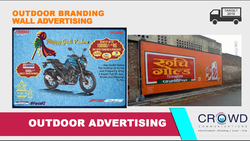 Outdoor Branding Wall Advertising