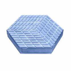 Hexagon 3 Paver Blocks Rubber Mould