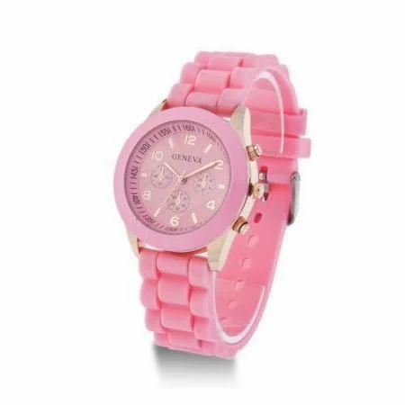 f81de599ded Pink Geneva Stylish Analog Watch For Girls