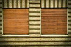 Rectangular Plain Venetian Bamboo Blinds, 6 - 8 Mm
