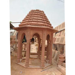 Red Stone Temple, Size: 12 x 12 feet