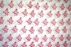 Hand Block Cotton Jaipuri Printed Fabric