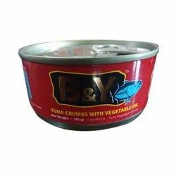160g Canned Tuna Crumb with Vegetable Oil