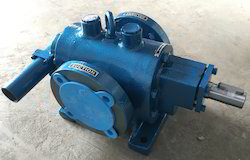 Jacketed Bitumen Twin Gear Pump