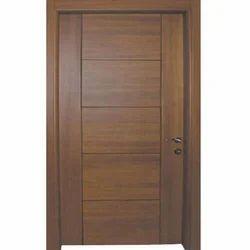 Polished Membrane Pressed Door, For Hotel, Home etc., Door Height: 96 Inch