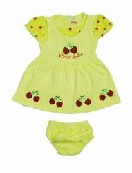 EMBROIDED GIRLS FROCK SET
