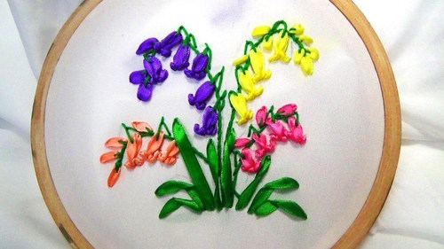 Jewellery Making Course Satin Ribbon Embroidery Course School