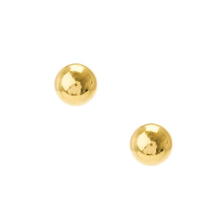 Ball Gold Studs