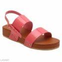 39 And 8 Women Ladies Pink Sandal