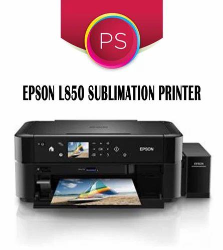 Sublimation Printer, Ink & Paper - Epson L850 Inkjet Sublimation
