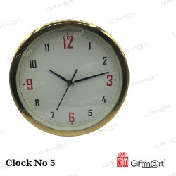 Analog Rectangle Promotional Wall Clock
