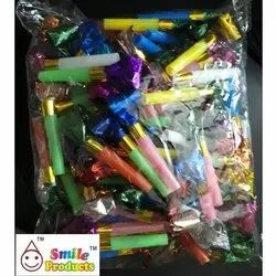 Multi Color Party Blowouts Whistles Kids Birthday Party Noisemaker
