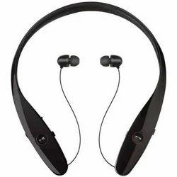 Black Bluetooth Earphone