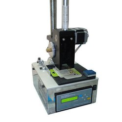 Inmark Table top semi automatic coding machine, Capacity: 240 Mm , HDPE 400